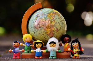 picture of children of different nationalities